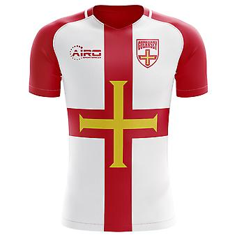 2018-2019 Guernsey Home Concept Football Shirt
