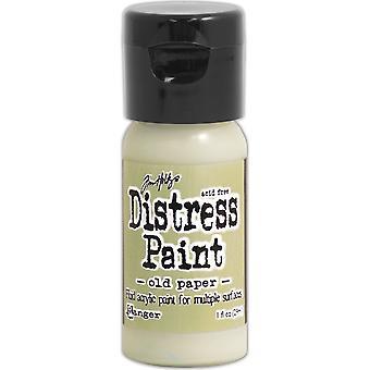 Distress färg Flip Top 1oz-gamla papper