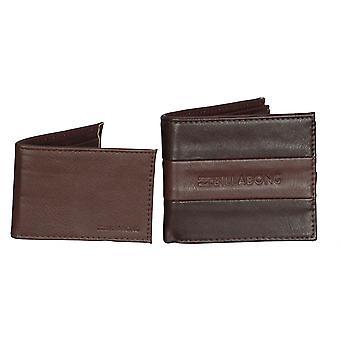 2 Billabong Wallets ~ Tribong Big Bill chocolate