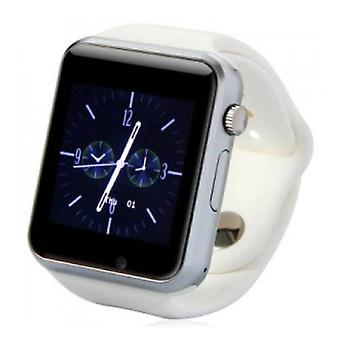 Stuff Certified ® Original A1 / W8 Smartwatch Watch OLED Smartphone Android iOS White