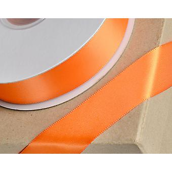 10mm Orange Satin Ribbon for Crafts - 25m | Ribbons & Bows for Crafts