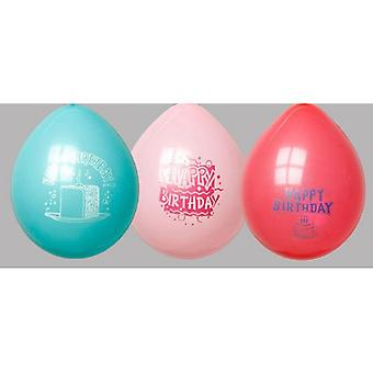 Globos ballonnen verjaardag 25 zak a 10