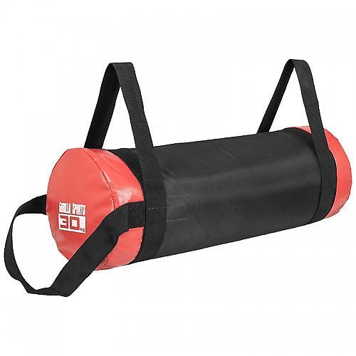 Fitness bag noir/rouge - Sac lest� 30kg
