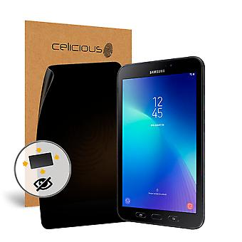 Celicious Privacy Plus 4-Way Anti-Spy Filter Screen Protector Film Compatible with Samsung Galaxy Tab Active 2 (LTE) SM-T395