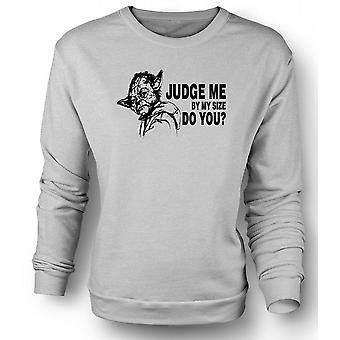 Womens Sweatshirt  Yoda Judge Me - Star Wars - Funny