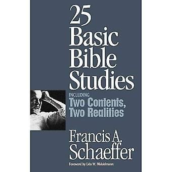 25 estudos básicos da Bíblia