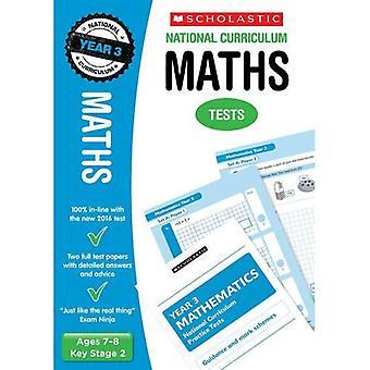 Mathe-Klausur - Jahr 3 (National Curriculum Tests)
