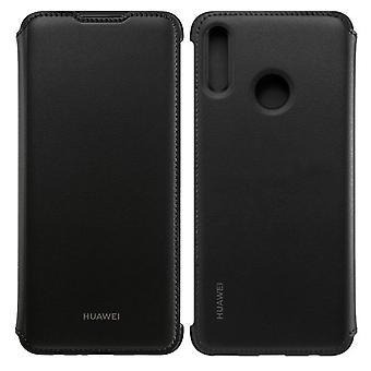 Original Huawei Wallet Flip Cover Schwarz für P Smart 2019 Schutzhülle Tasche Hülle Case 51992830