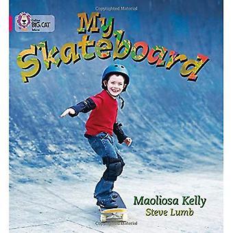My Skateboard: Band 01a/Pink A (Collins Big Cat)