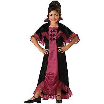 Burgundy Vampiress Child Costume