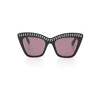 Stella Mccartney Black Acetate Sunglasses