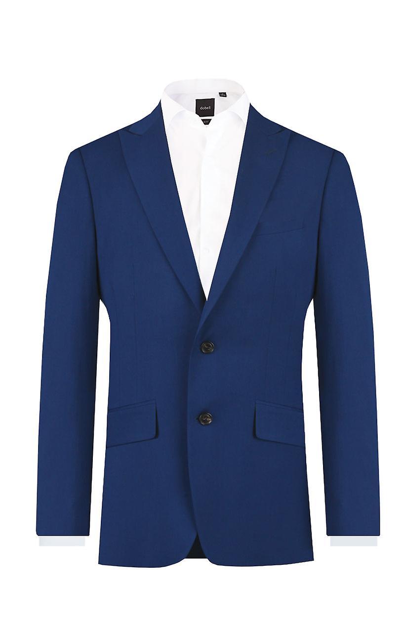 Veste de costume bleu clair Dobell garçons Fit Regular Notch Lapel