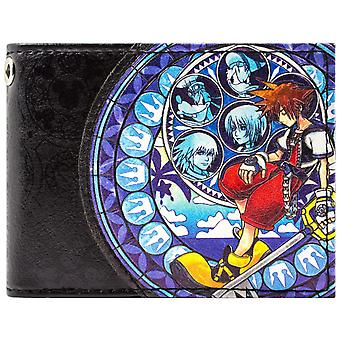 Kingdom Hearts 2 Sora Donald Goofy ID & Card Bi-Fold Wallet