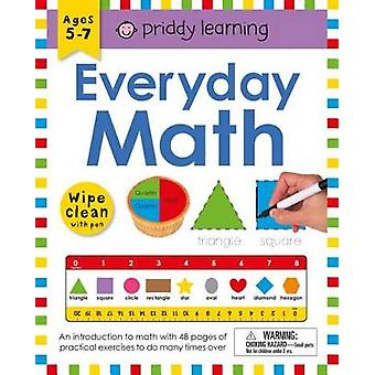 Wipe Clean Workbook - Everyday Math by Roger Priddy - 9780312522070 Bo