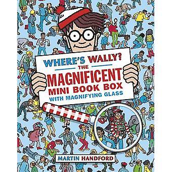 Onde está o Wally? A caixa mini livro magnífico por Martin Handford-978