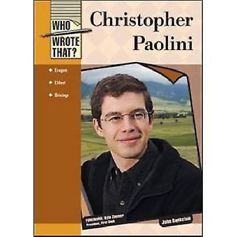 Christopher Paolini by John Bankston - Kyle Zimmer - 9781604137279 Bo