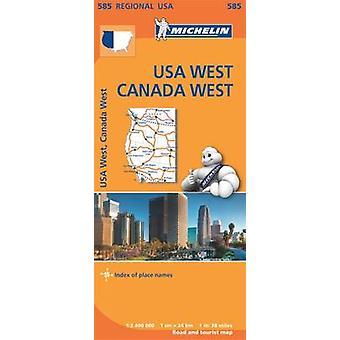 USA West Canada West - 9782067184701 Book