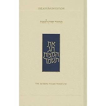 The Koren Sacks Pesah Mahzor by Jonathan Sacks - 9789653013186 Book