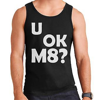 U OK M8 Men's Vest