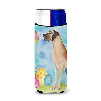 Fawn Natural Great Dane Easter Michelob Ultra Hugger for slim cans