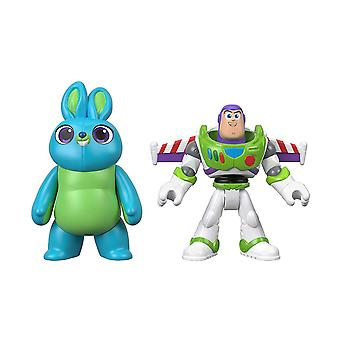 Disney Pixar Toy Story 4 Buzz Lightyear & Bunny 2 Pack GBG91