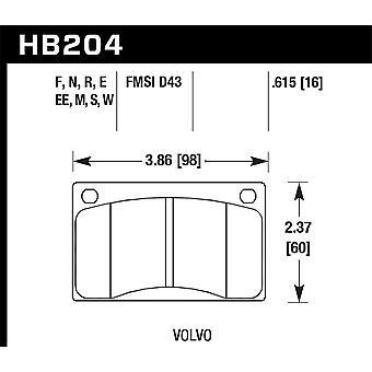 Hawk performance HB204F. 615 HPS