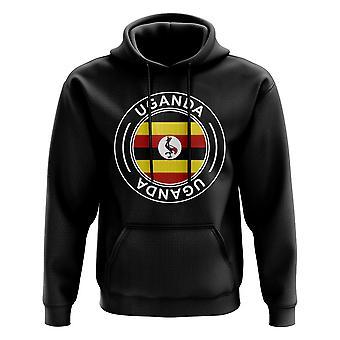 Uganda Football Badge Hoodie (Black)