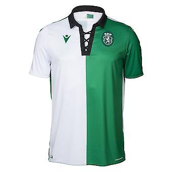 2019-2020 Sporting Lisbon Authentic Stromp Match Shirt