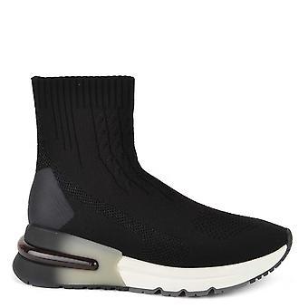 Ash Footwear Kute Black Knit Trainer