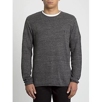 Volcom Men's Crew Neck Sweater ~ Uperstand heather grey