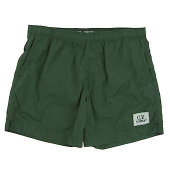 CP empresa beachwear nadar shorts verde 664