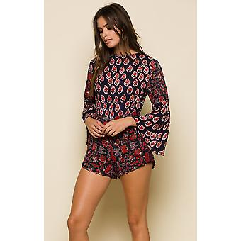 Infinite nights open-back romper