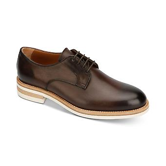 Kenneth Cole New York Hommes Timony Cuir Lace Up Robe Oxfords