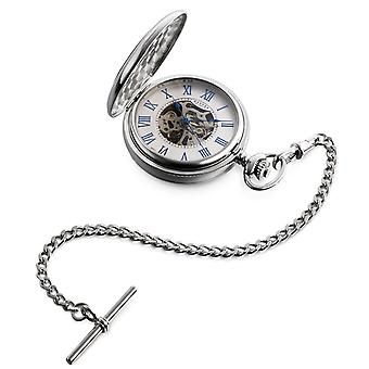 Dalvey Skeletal Half Hunter Pocket Watch