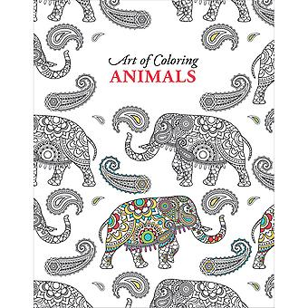 Leisure Arts-Art Of Coloring Animals LA-54555