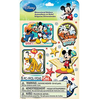 Disney Dimensional Stickers Mickey Family Boys E5150053