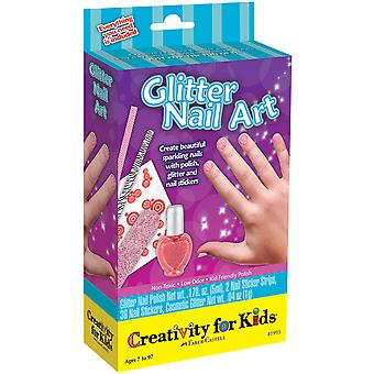 Creativity For Kids Activity Kits Glitter Nail Art Ck 1993