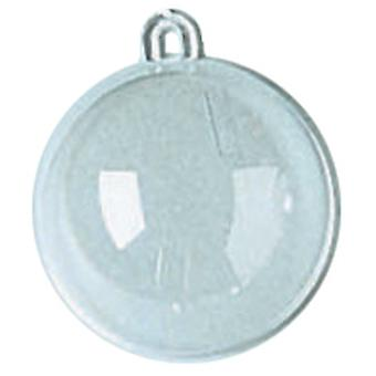 Hanging Ball Ornament 60Mm Clear 1105 95