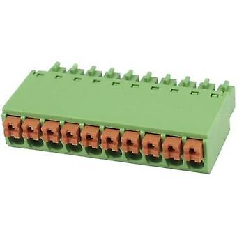 Pin enclosure - cable Total number of pins 8 Degson 15EDGKN-3.5-08P-14-00AH Contact spacing: 3.5 mm 1 pc(s)