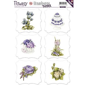 Find It Trading Precious Marieke Punchout Sheet-Flowery SB10104