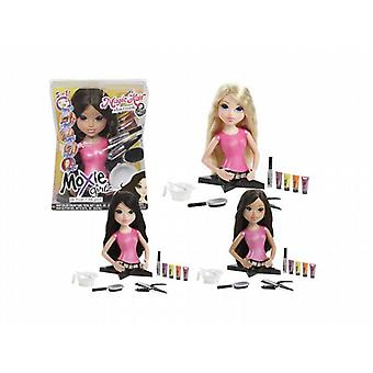 Moxie girlz magic hair torso