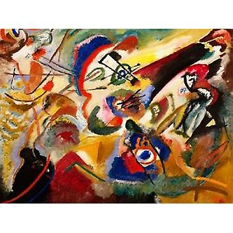 Fragment II for Composition VII Poster Print by Wassily Kandinsky