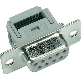 D-SUB receptacles 180 ° Number of pins: 37 Cut & Clip Harting 09 66 418 7500 1 pc(s)