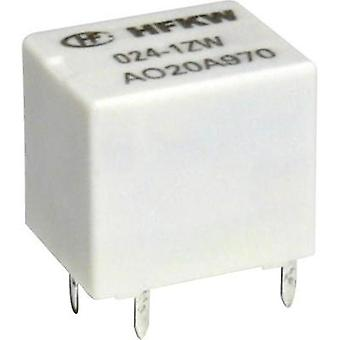 Automotive relay 12 Vdc 10 A 1 change-over Hongfa HFKW/012-1Z W