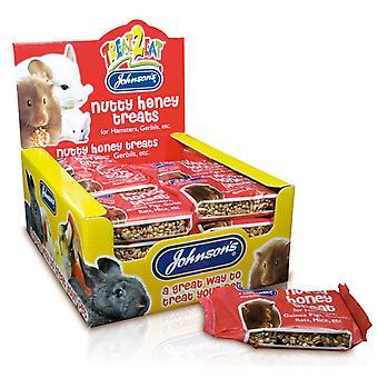 Jvp Hamster & Gerbil Nutty Honey Treats 50g (Pack of 24)