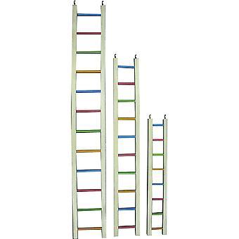 Wooden Ladder Multi Coloured 122cm