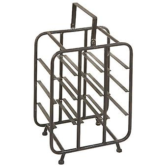 Wellindal Botellero Pequeño negro (Home , Kitchen , Wine and Bar , Racks)