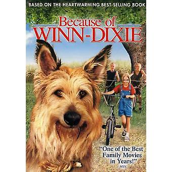 Because of Winn Dixie [DVD] USA import