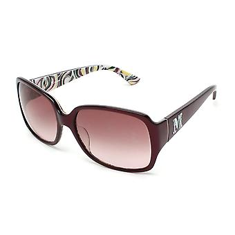 Missoni Women's Rectangular Oversized Sunglasses Burgundy