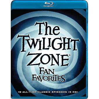 Twilight Zone: Fan Favorites [Blu-ray] USA import